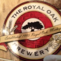 Photo taken at Royal Oak Brewery by Mike F. on 5/21/2012