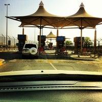 Photo taken at منفذ هيلي الحدودي Hili Border Port by Chad L. on 8/31/2012