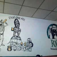 Photo taken at Rogue Ales Bayfront Public House by Rachel M. on 6/24/2012