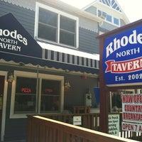 Photo taken at Rhodes North Tavern by Samuel M. on 5/31/2012