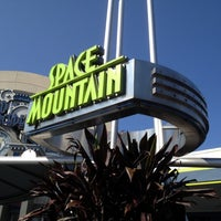 Photo taken at Space Mountain by Anthony on 5/23/2012