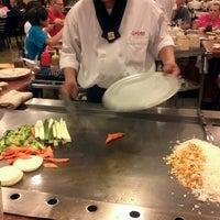 Photo taken at Sakura Japanese Steak, Seafood House & Sushi Bar by Miranda O. on 7/15/2012