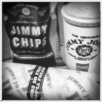 Photo taken at Jimmy John's by April A. on 5/31/2012