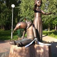 Photo taken at Памятник детям, расстрелянным в Бабьем Яру by Daryna I. on 4/30/2012