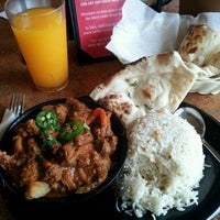 Photo taken at Tarka Indian Kitchen by Steve A. on 5/12/2012
