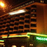 Photo taken at The Heritage Hotel by @enjayneer on 4/23/2012