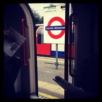 Photo taken at Ealing Broadway Railway Station (EAL) by Hayden S. on 7/10/2012
