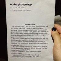 Foto tirada no(a) Midnight Cowboy por Jasmin S. em 8/19/2012