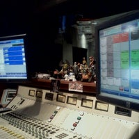 Photo taken at WJR Control 1 by Brian M. on 3/27/2012
