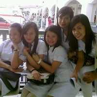 Photo taken at CICT Academic Building by Djoan S. on 4/3/2012