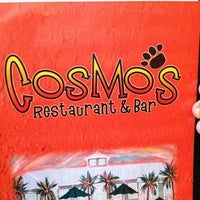 Photo taken at Cosmo's Restaurant and Bar by Carrie J. on 4/23/2011
