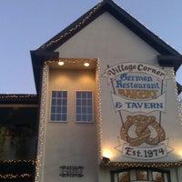 Photo taken at The Village Corner German Restaurant & Tavern by Redz P. on 11/5/2011