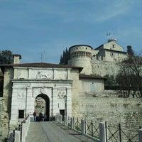 Photo taken at Castello di Brescia by Maurizio M. on 3/17/2012