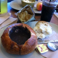 Photo taken at Panera Bread by Olivier E. L. on 9/6/2011