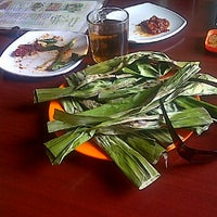 Photo taken at Cibiuk - Rumah Makan Khas Sunda by Dinda A. on 9/24/2011