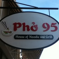 Photo taken at Pho 95 by kim d. on 9/5/2011