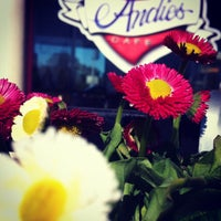 Photo taken at Andie's Cafe by Jeannine M. on 2/15/2012