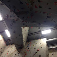 Photo taken at Ibex Climbing Gym by Jeremy S. on 1/4/2012