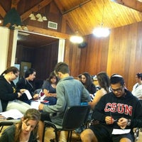 Photo taken at SoCal Hillel Student Leadership Retreat by Judy A. on 9/11/2011