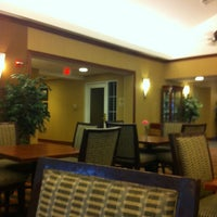 Photo taken at Homewood Suites by Hilton Manchester Airport by Kerry S. on 4/9/2012