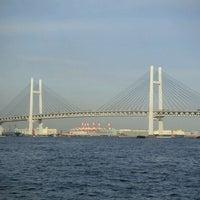 Photo taken at Yokohama Bay Bridge by U-VAN on 4/22/2011