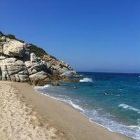 Photo taken at Armenistis Beach by Maria R. on 9/6/2012