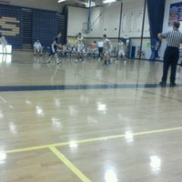 Photo taken at Owosso High School by Kevin Michael F. on 1/13/2012