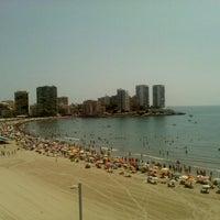 Photo taken at Playa De La Concha by Carmen N. on 7/7/2012