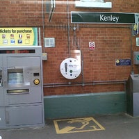 Photo taken at Kenley Railway Station (KLY) by Matthew B. on 6/26/2012