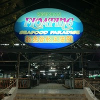 Photo taken at Floating Seafood Paradise by Wilson G. on 3/25/2012