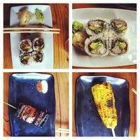 Photo taken at Kushi Izakaya & Sushi by Boris on 8/15/2012