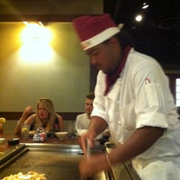 Photo taken at Genji Japanese Steakhouse by Ron D. on 8/12/2011