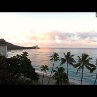 Photo taken at Moana Surfrider, A Westin Resort & Spa, Waikiki Beach by Marites S. on 7/22/2012