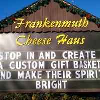 Photo taken at Frankenmuth Cheese Haus by Josh W. on 11/23/2011