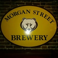 Photo taken at Morgan Street Brewery by J L. on 1/1/2012