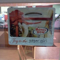 Photo taken at Honey Dew Donuts by Kayla M. on 12/1/2011