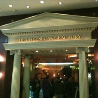 Photo taken at The Cheesecake Factory by Eric A. on 1/22/2011