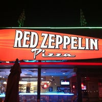 Photo taken at Red Zeppelin Pizza by G Michael B. on 1/17/2012