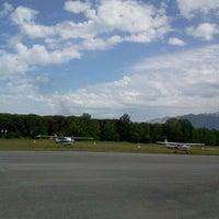 Photo taken at Aeroclub Marina di Massa by Chiara on 5/19/2012