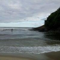 Photo taken at Praia Itamambuca by Eduardo E. on 12/27/2011