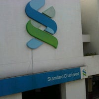 Photo taken at Standard Chartered Bank by Mikaielle on 10/9/2011