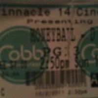 Photo taken at Cobb Pinnacle 14 Theatre by Elizabeth S. on 10/2/2011