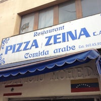 Photo taken at Restaurante Pizza Zeina by Jesus on 8/15/2012