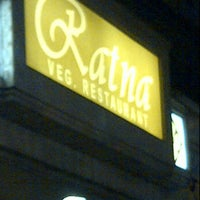 Photo taken at Ratna Restaurant by Abhishek P. on 12/1/2011