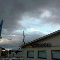 Photo taken at Mykonos Family Restaurant by Stephen M. on 9/4/2011