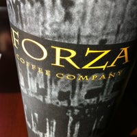 Photo taken at Forza Coffee Co. by Andrew Z. on 4/3/2012
