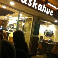 Photo taken at Haskahve Evi by Meriç G. on 11/30/2011
