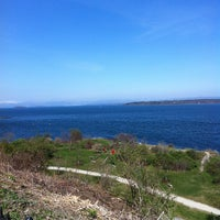 Photo taken at Fort Allen Park by Georgy C. on 4/21/2012