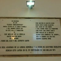 Photo taken at Monasterio De Yuso by Eva M. on 8/23/2012