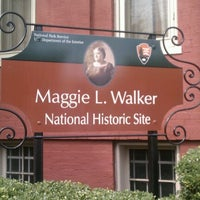 Photo taken at Maggie L Walker National Historic Site by Elizabeth T. on 8/7/2012